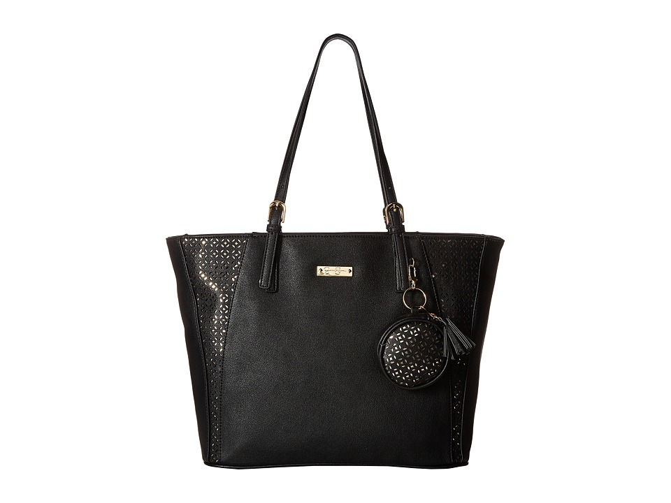 Jessica Simpson - Celeste Tote (Black) Tote Handbags