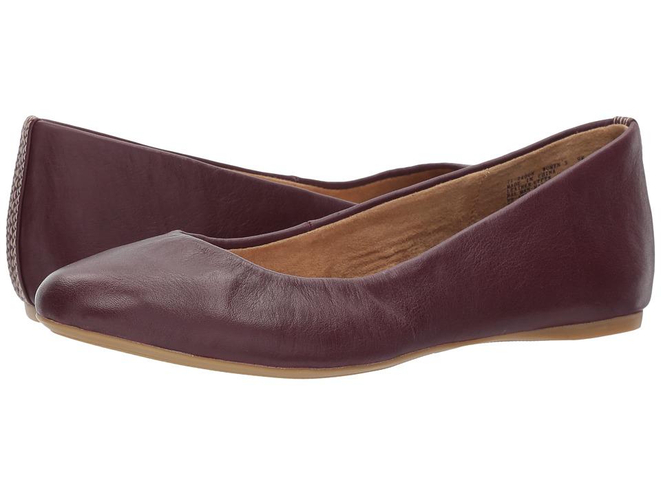 G.H. Bass & Co. Felicity (Eggplant Leather) Women