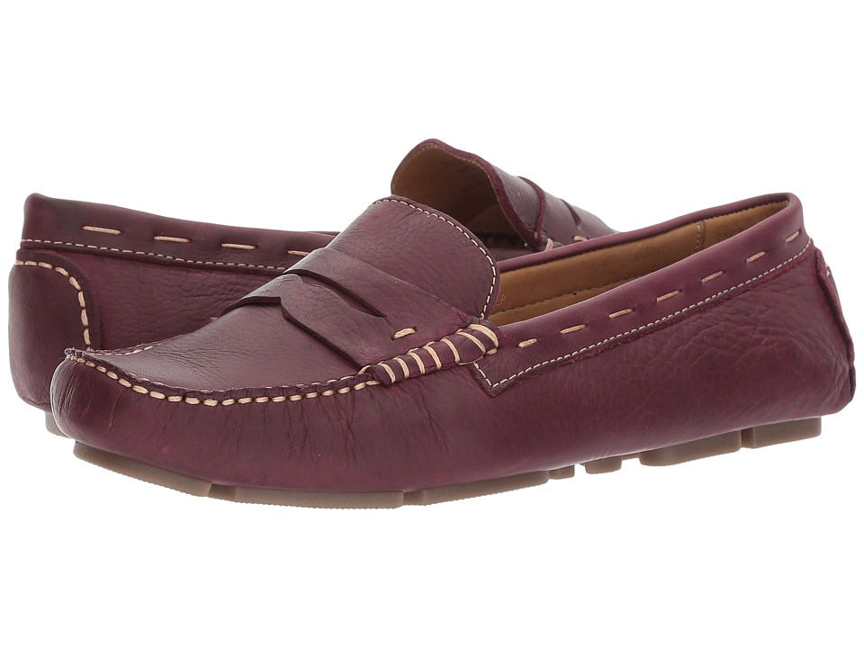 G.H. Bass & Co. Patricia (Eggplant Leather) Women
