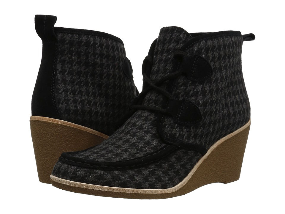 G.H. Bass & Co. Rosa (Black Fabric/Suede) Women