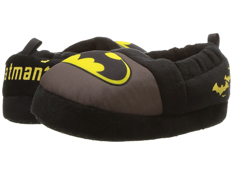 Favorite Characters Batman Slipper (Toddler/Little Kid) (Grey/Black/Yellow) Boys Shoes
