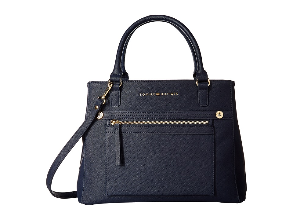 Tommy Hilfiger - Lani Convertible Tote (Tommy Navy) Tote Handbags