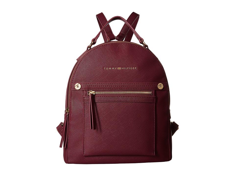 Tommy Hilfiger - Lani Backpack (Merlot) Backpack Bags