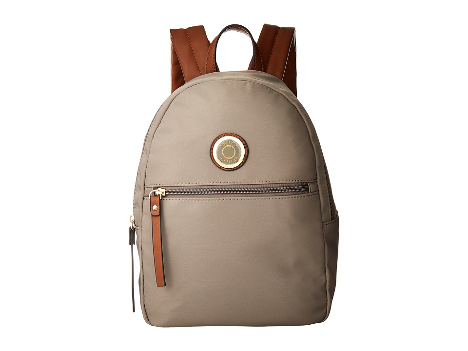 Tommy Hilfiger - Ivy Dome Backpack (Khaki) Backpack Bags
