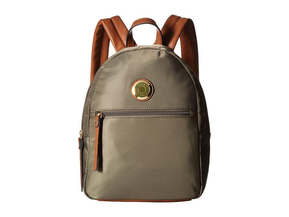 Tommy Hilfiger - Ivy Dome Backpack (Olive) Backpack Bags