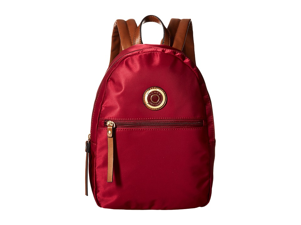 Tommy Hilfiger - Ivy Dome Backpack (Merlot) Backpack Bags