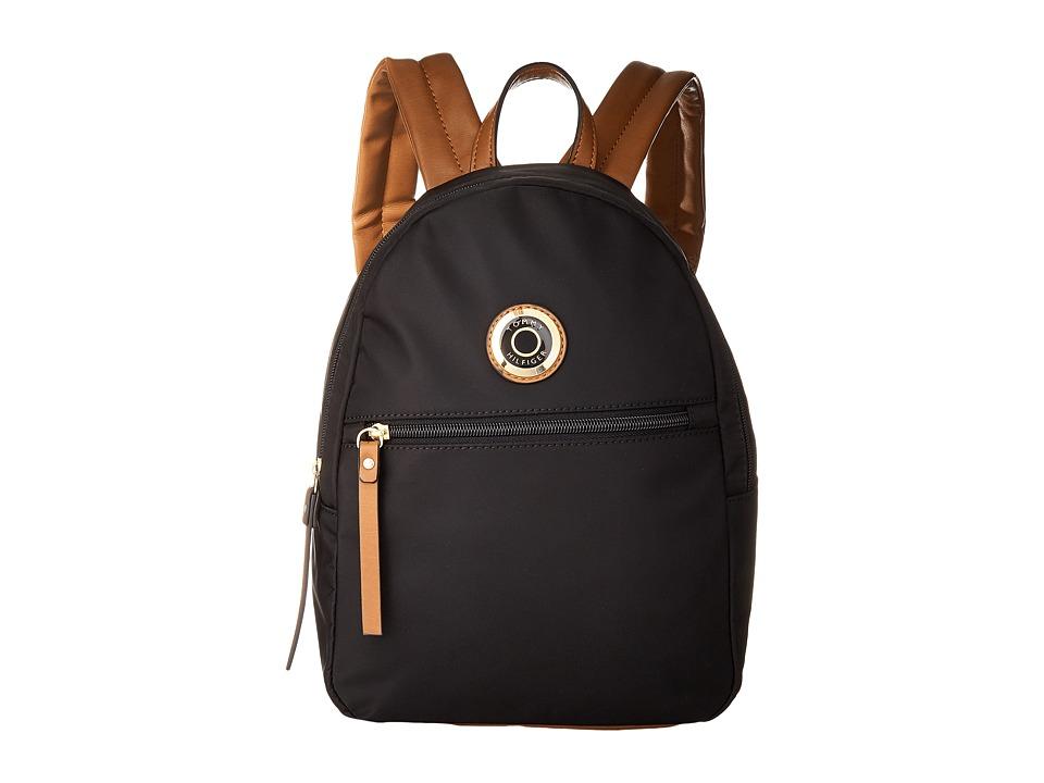 Tommy Hilfiger - Ivy Dome Backpack (Black) Backpack Bags
