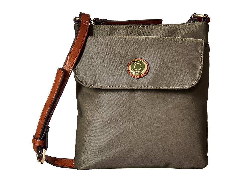 Tommy Hilfiger - Ivy North/South Crossbody (Olive) Cross Body Handbags