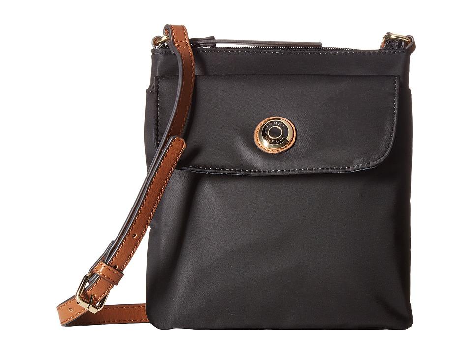 Tommy Hilfiger - Ivy North/South Crossbody (Black) Cross Body Handbags