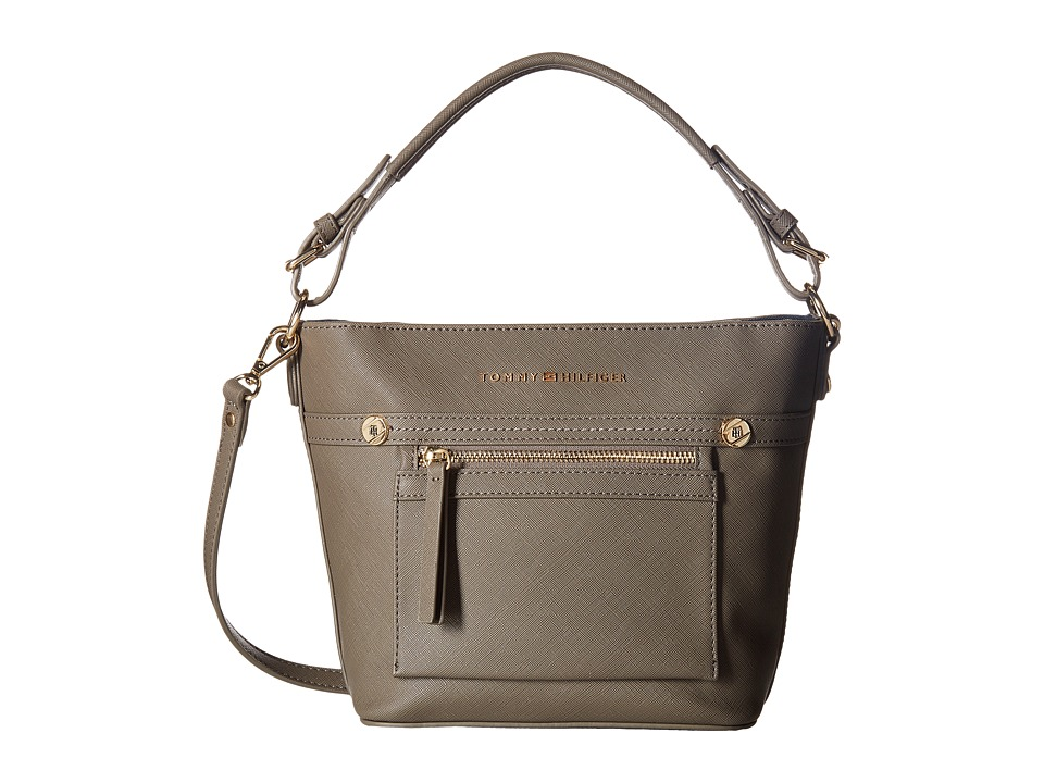 Tommy Hilfiger - Lani Convertible Crossbody (Mushroom) Cross Body Handbags