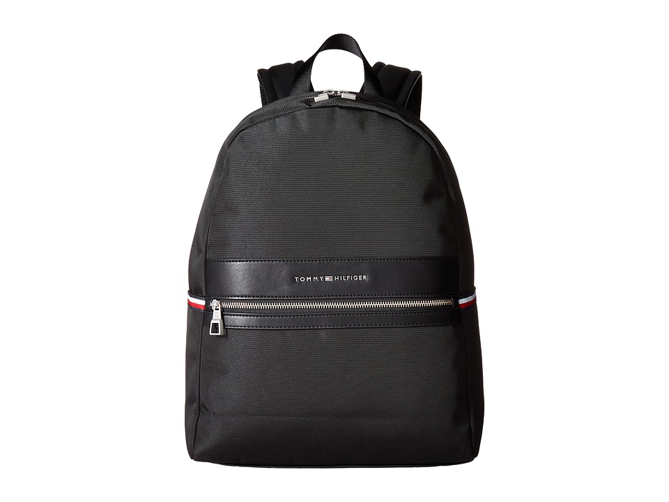 Tommy Hilfiger - Essentials Backpack (Black) Backpack Bags