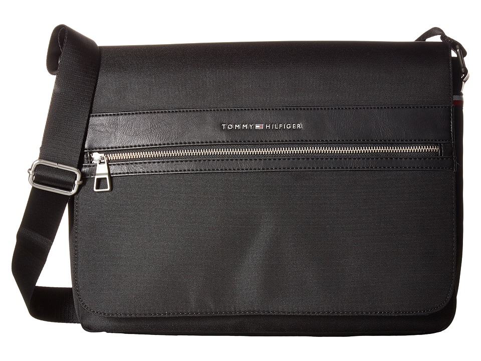 Tommy Hilfiger - Essentials Messenger (Black) Bags
