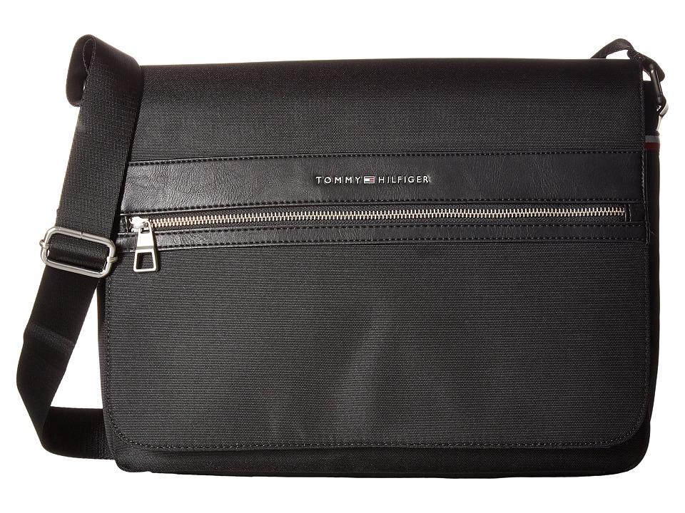 Tommy Hilfiger - Essentials Messenger (Black) Bags