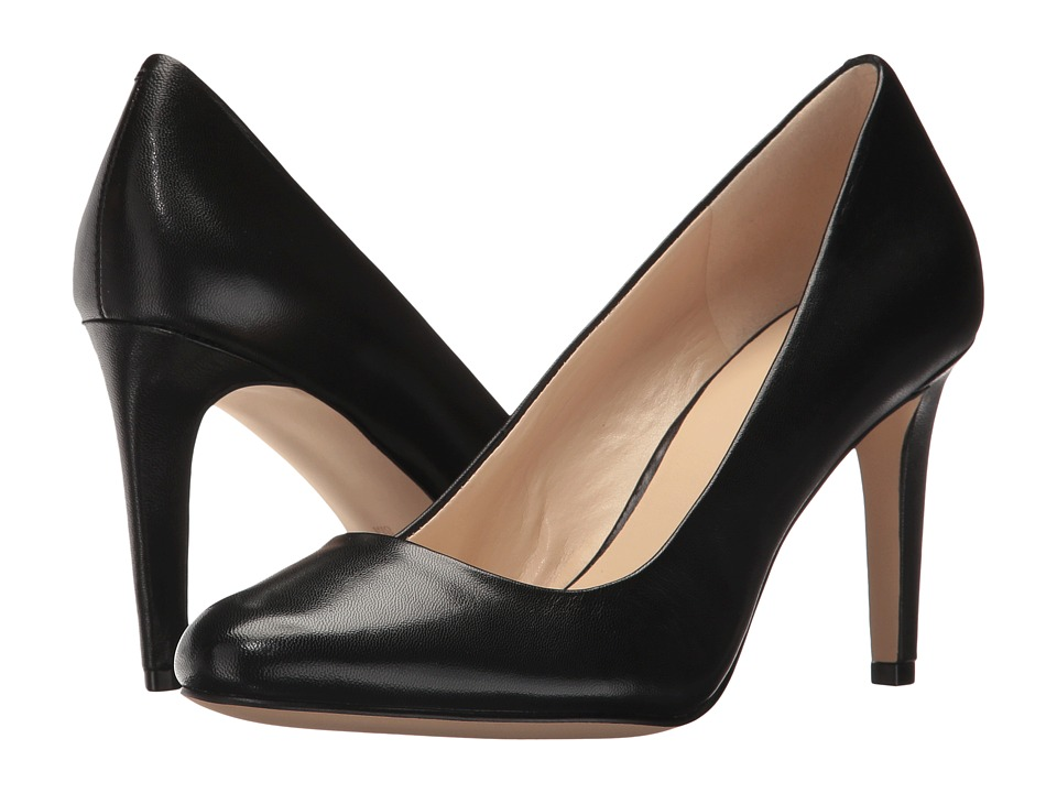 Nine West - Handjive (Black Leather) High Heels