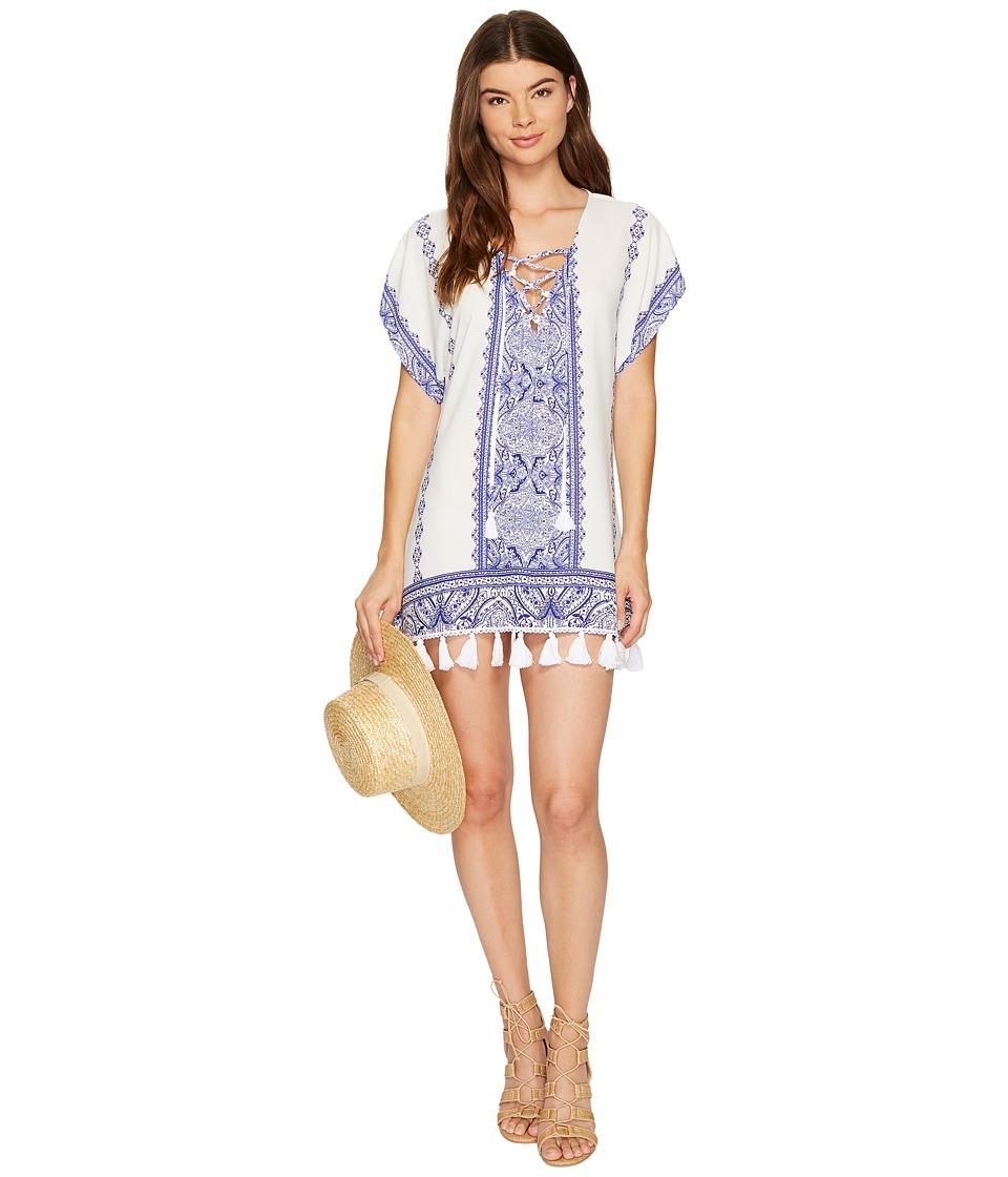 Show Me Your Mumu - Original Mumu Lace-Up (Oceana Del Rey) Women's Blouse