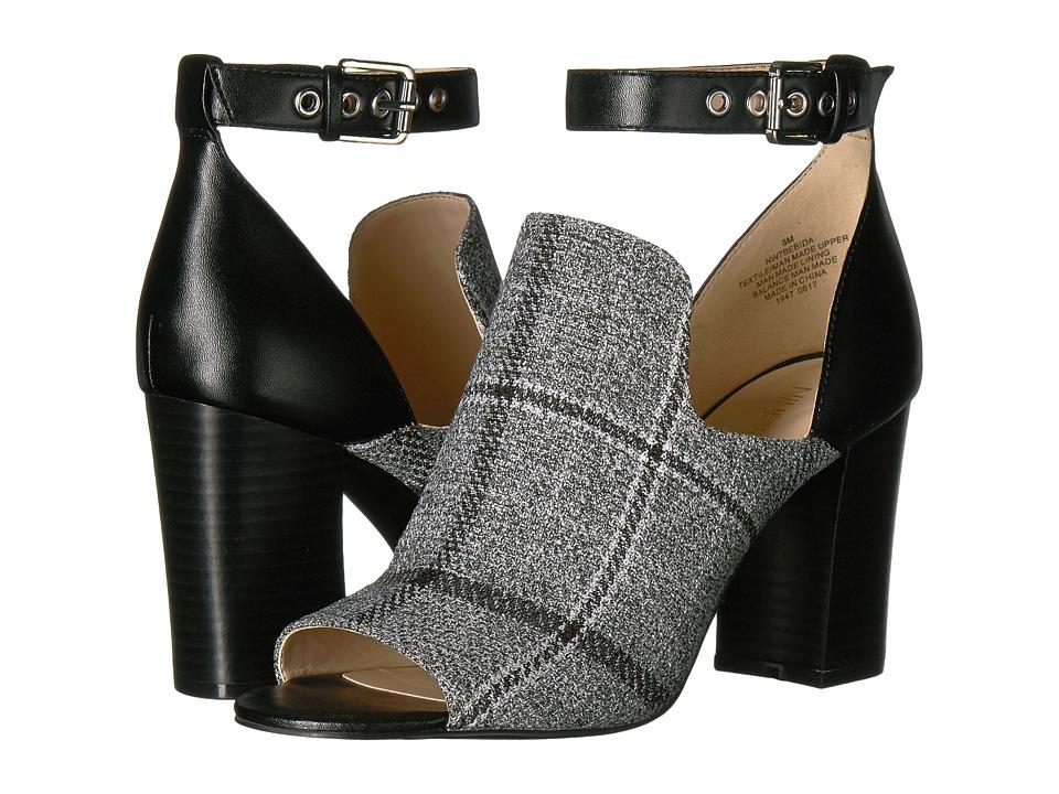 Nine West Bebida (Grey/Black Fabric) Women