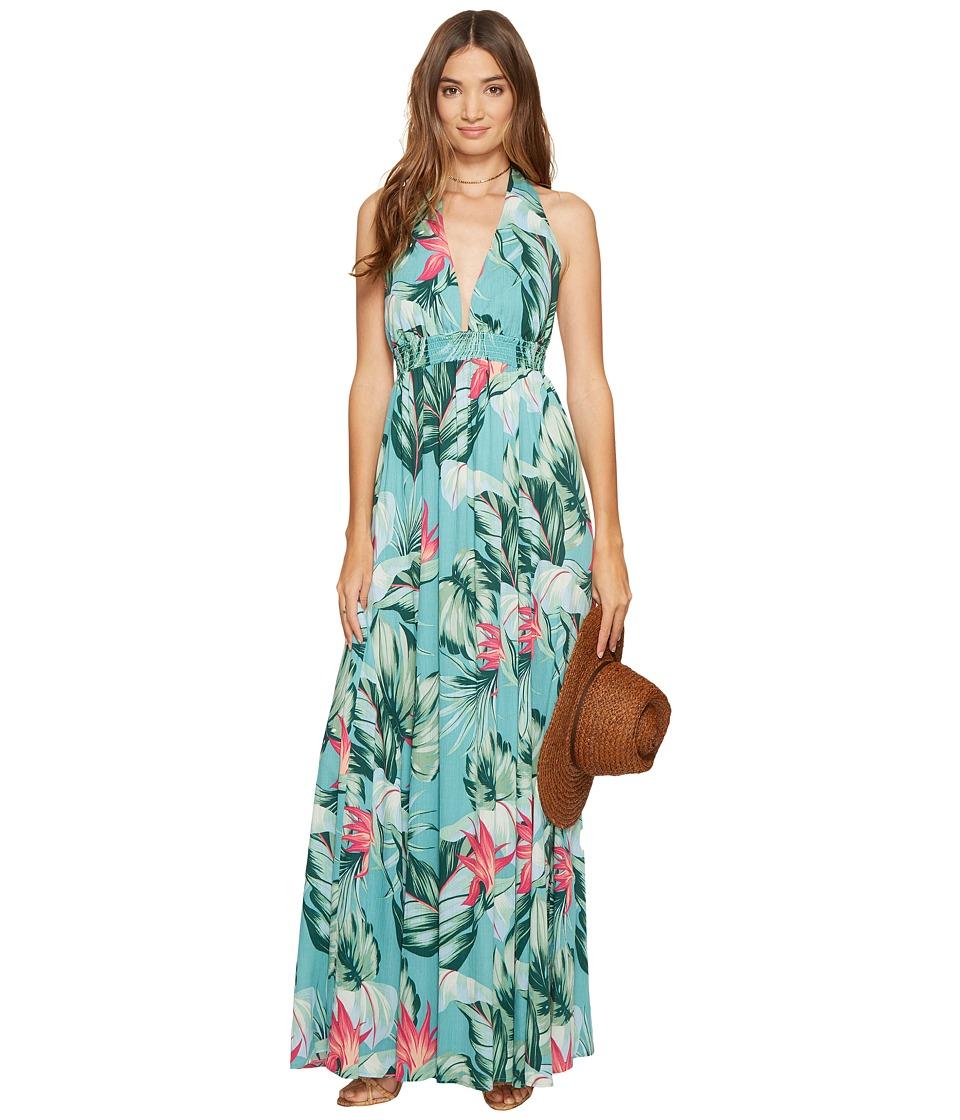 Show Me Your Mumu - Vacation Maxi (Kauai Hugs Cloud) Women's Dress