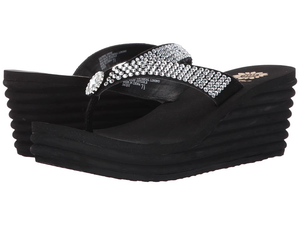 Yellow Box - Jacqui (Black) Women's Sandals