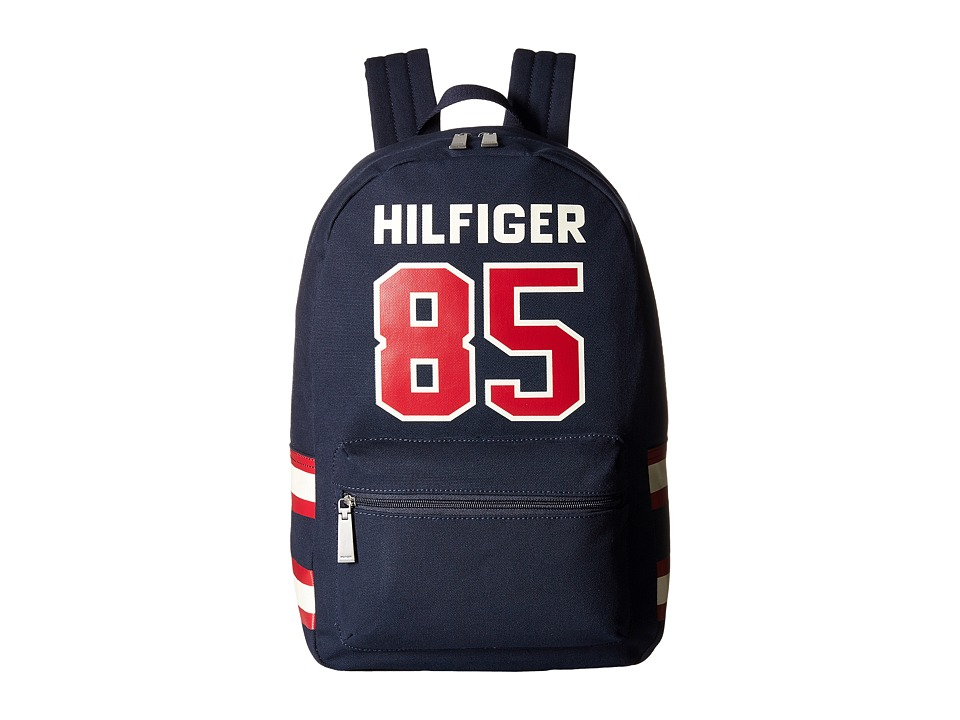 Tommy Hilfiger - Hilfiger 85 Canvas Backpack (Tommy Navy) Backpack Bags