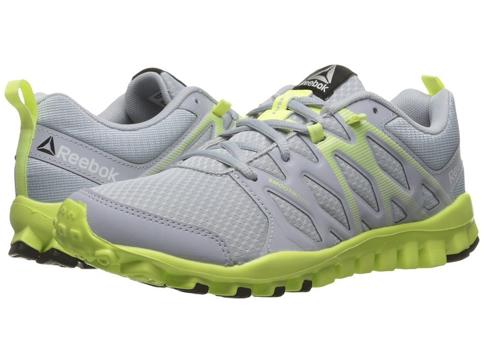 Reebok - RealFlex Train 4.0 (Cloud Grey/Lemon Zest) Women's Shoes
