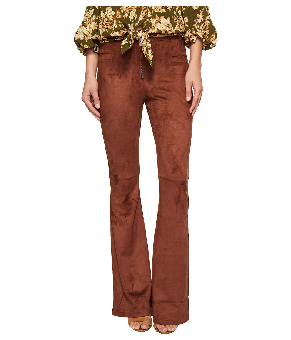 ROMEO & JULIET COUTURE - Bell Bottom Woven Pants (Aztec) Women's Casual Pants