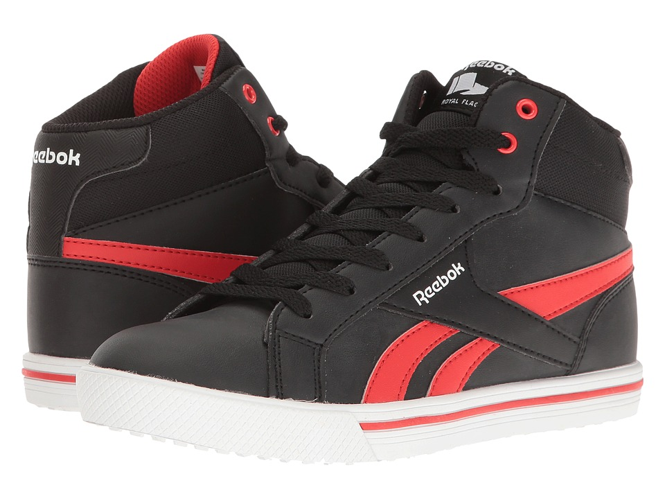 Reebok Kids - Royal Comp 2M (Little Kid/Big Kid) (Black/Riot Red) Kid's Shoes