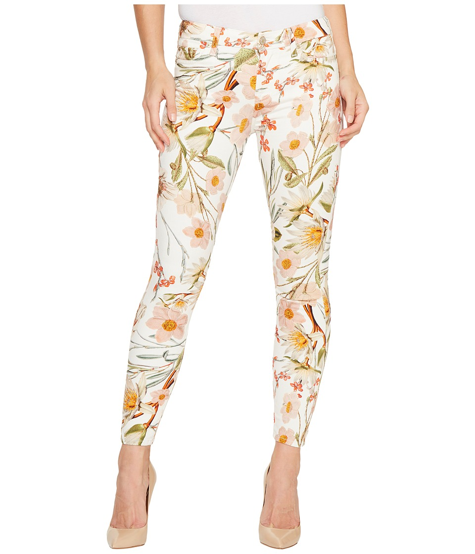 7 For All Mankind - The Ankle Skinny Jeans in Tropical Print (Tropical Print) Women's Jeans