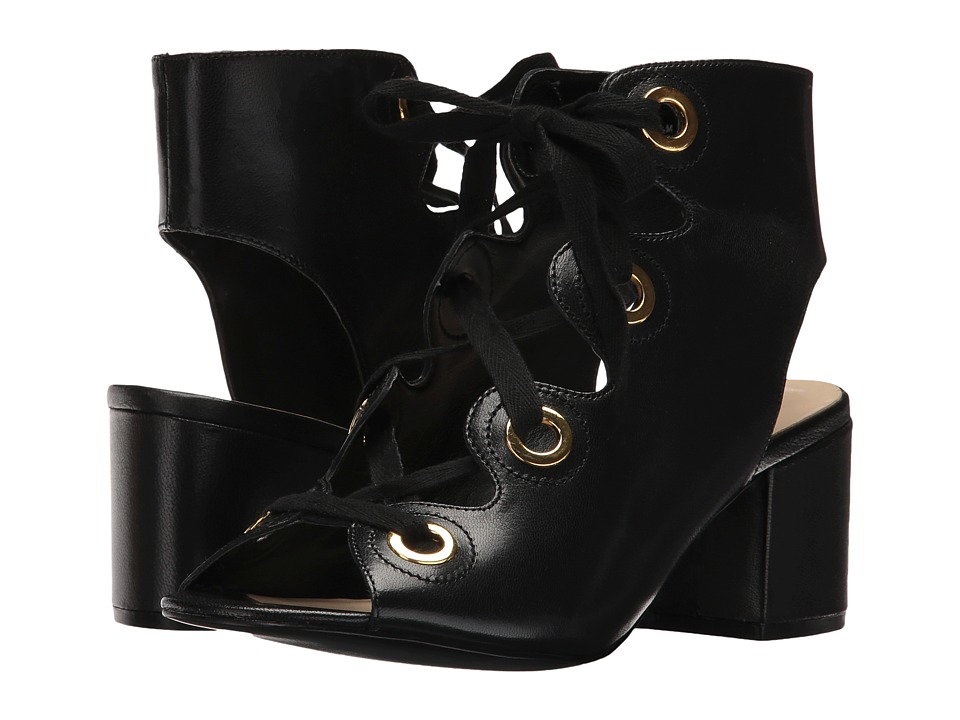 Nine West - Gaines (Black Leather) High Heels