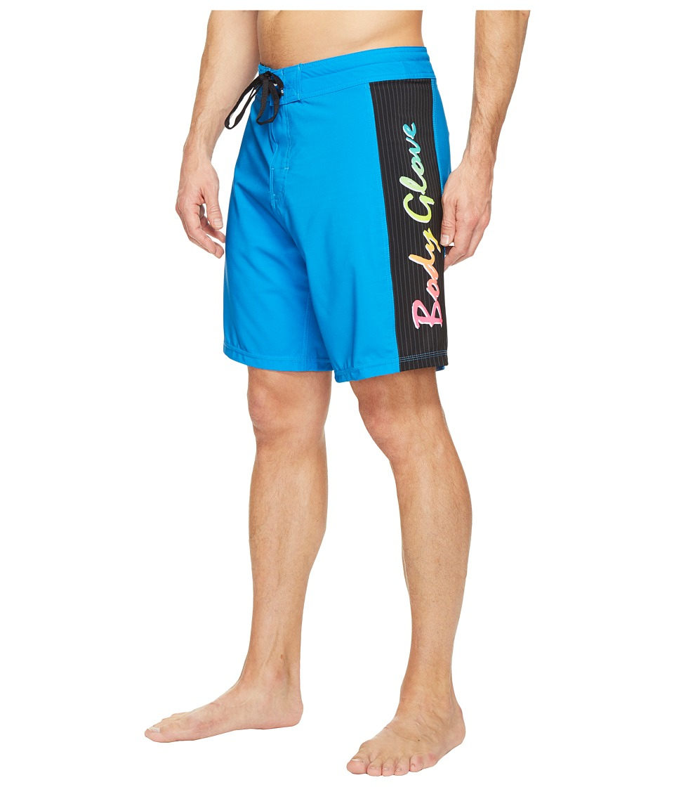 Body Glove - Vapor Lazer Zap Boardshorts (Blue) Men's Swimwear