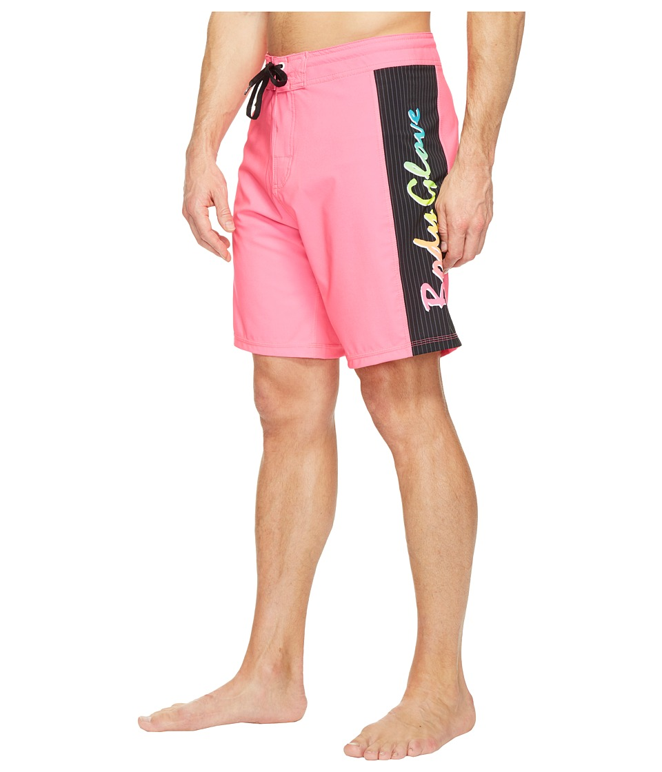 Body Glove - Vapor Lazer Zap Boardshorts (Neon Pink) Men's Swimwear