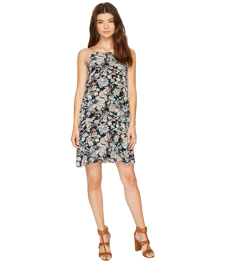 kensie - Wild Garden Dress KS8K9890 (Black Combo) Women's Dress