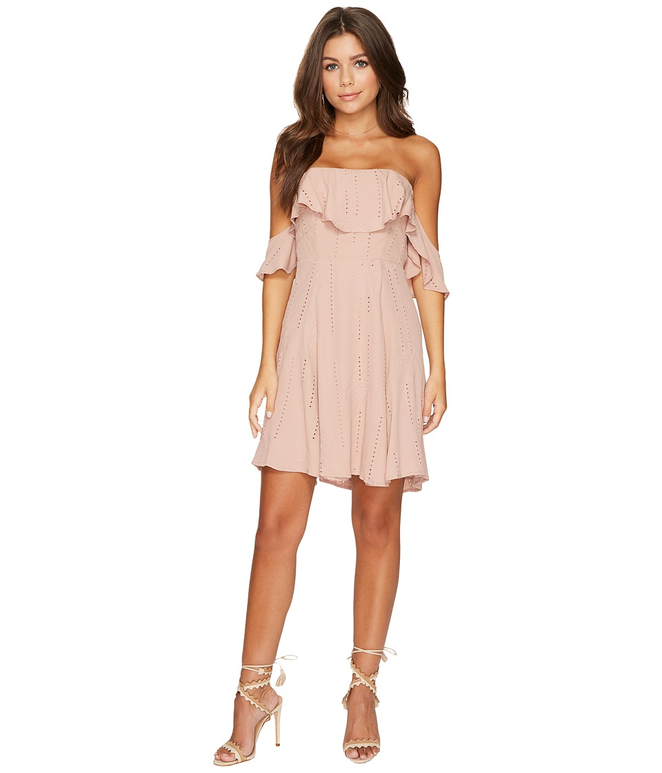 ASTR the Label Sabina Dress (Mauve) Women