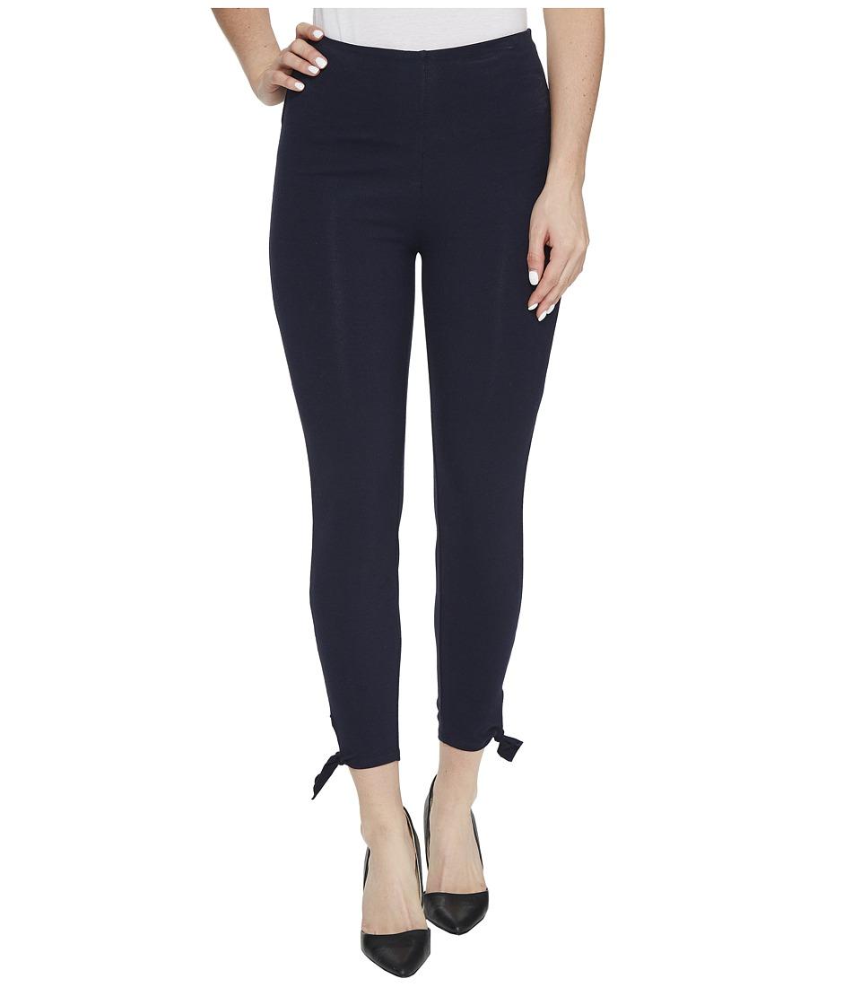 Lysse - Tie Cotton Crop Pants (Midnight) Women's Casual Pants