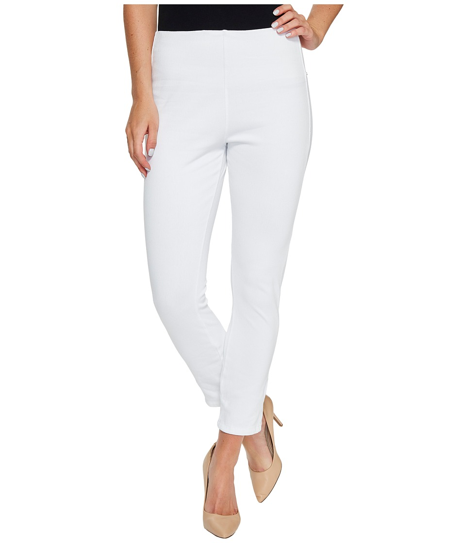 Lysse - Toothpick Crop (White) Women's Casual Pants