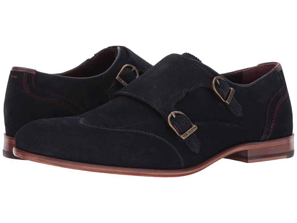 Ted Baker - Rovere (Dark Blue Suede) Men's Shoes