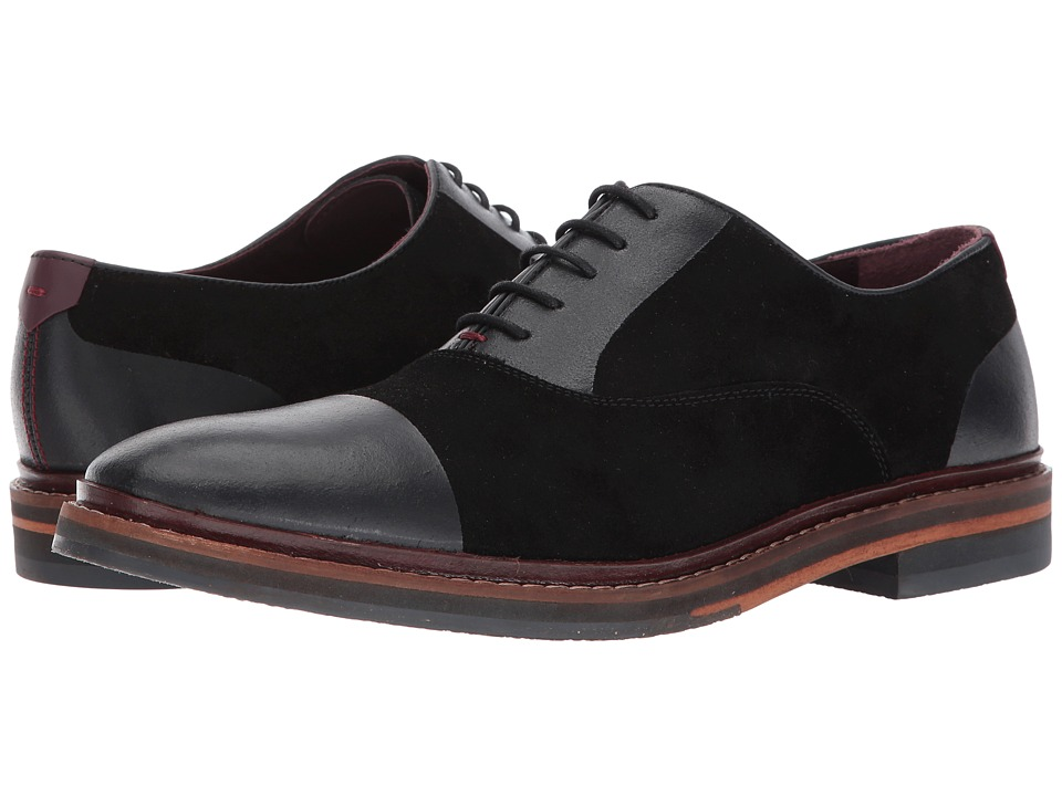 Ted Baker Saskat (Black Suede) Men