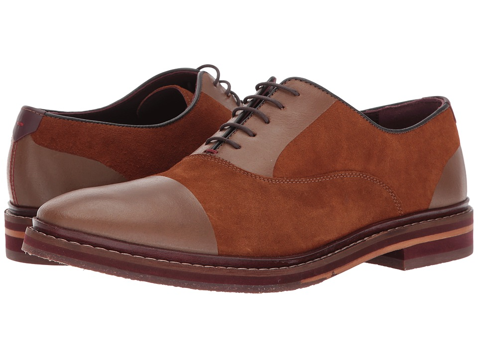 Ted Baker Saskat (Tan Suede) Men