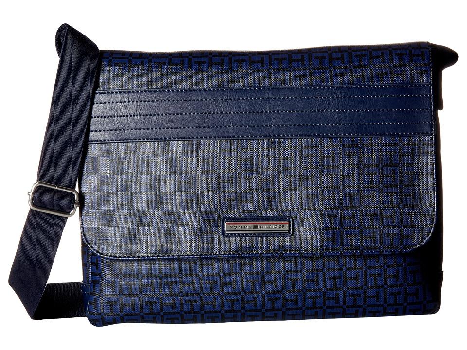 Tommy Hilfiger - Morgan Messenger (Navy/Black) Messenger Bags