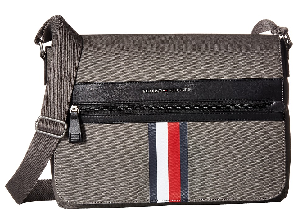 Tommy Hilfiger - Icon Messenger Canvas (Castlerock) Messenger Bags