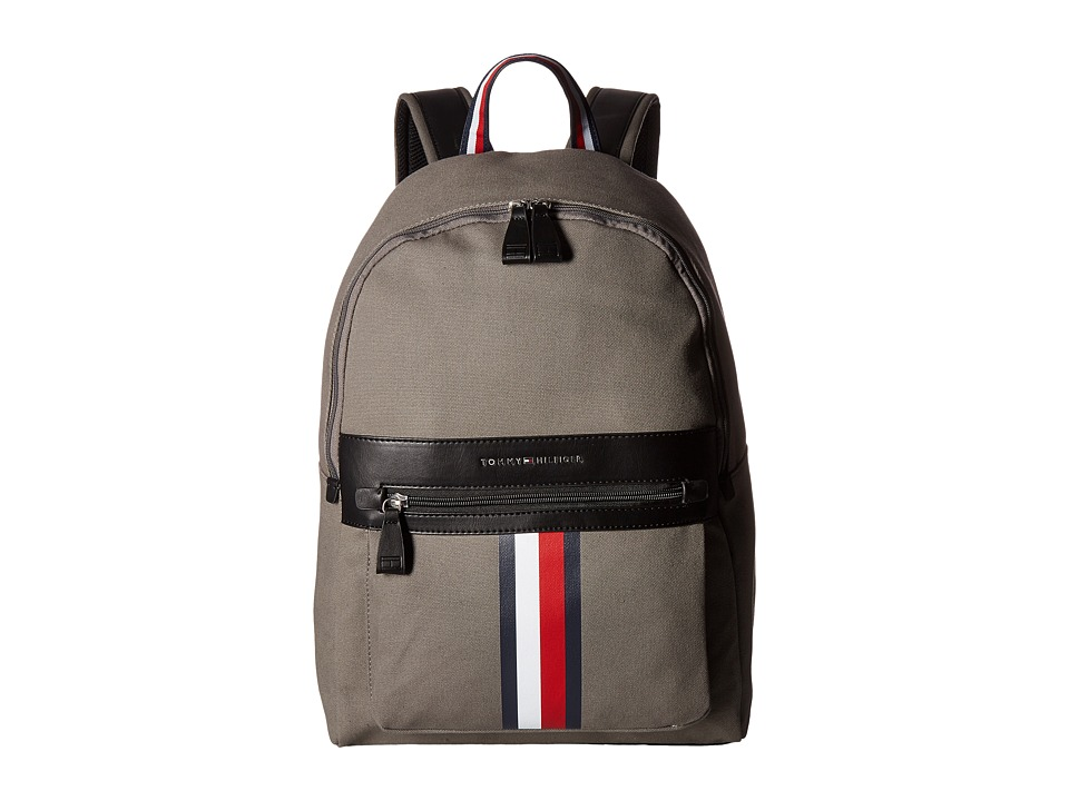 Tommy Hilfiger - Icon Backpack Canvas (Castlerock) Backpack Bags