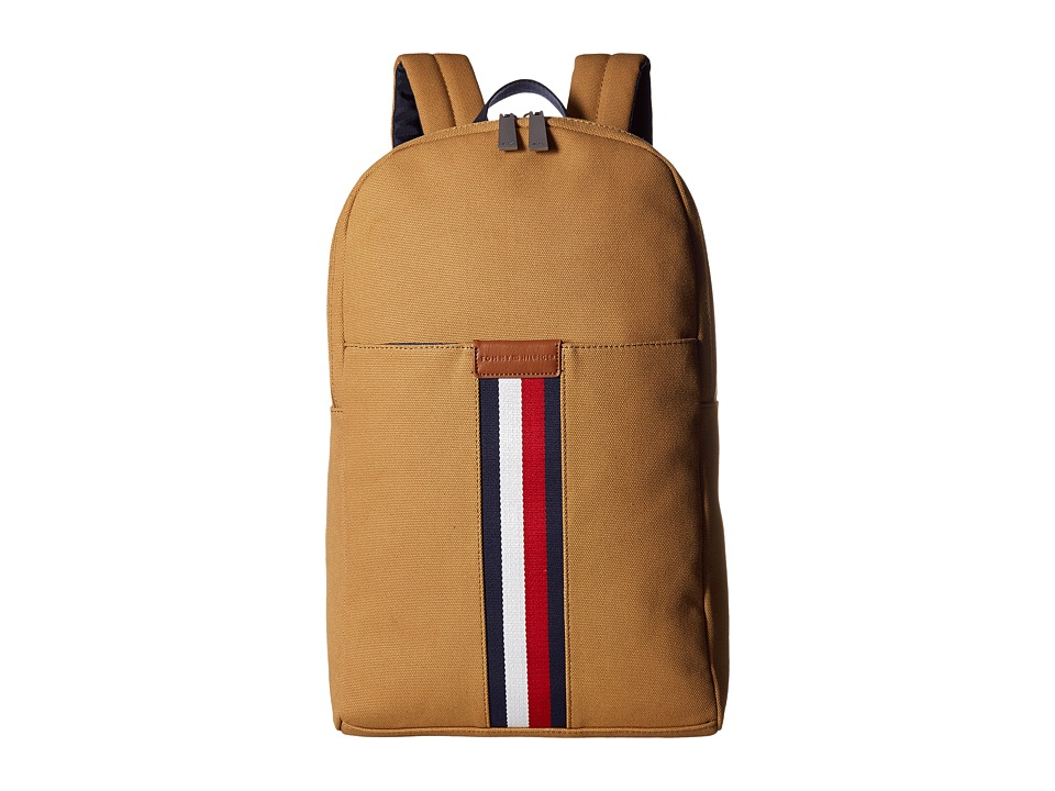 Tommy Hilfiger - Elijah Backpack Canvas (British Tan) Backpack Bags