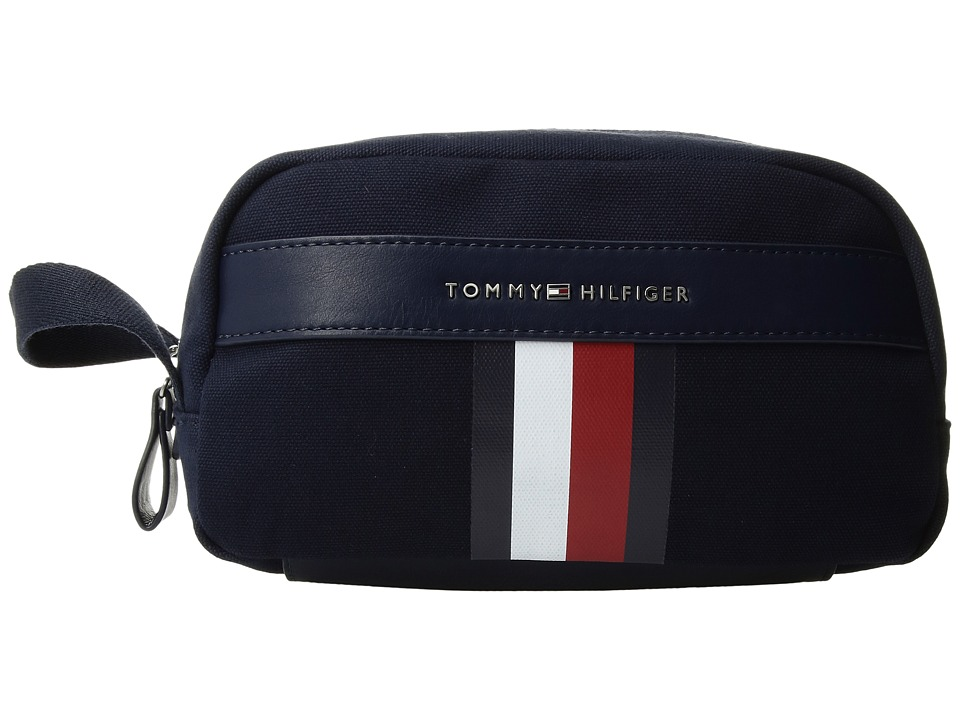 Tommy Hilfiger - Icon Dopp Kit Canvas (Tommy Navy) Bags