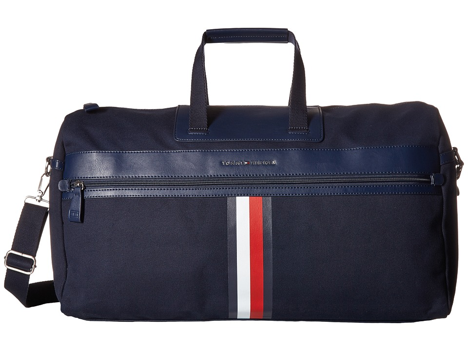 Tommy Hilfiger - Icon Duffel Canvas (Tommy Navy) Duffel Bags