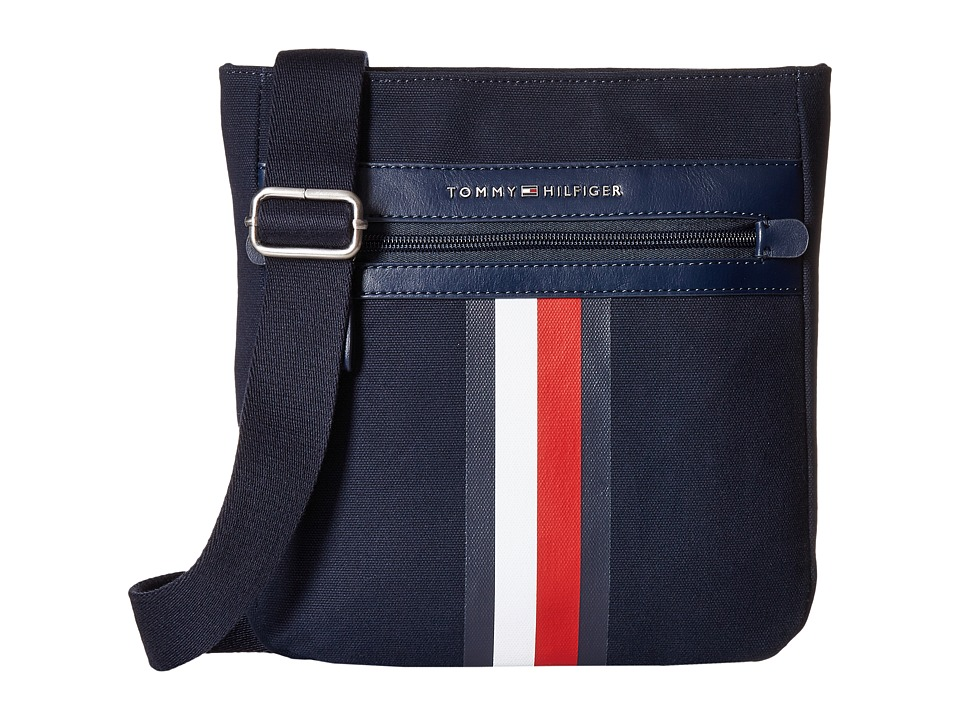 Tommy Hilfiger - Icon Crossbody Canvas (Tommy Navy) Cross Body Handbags