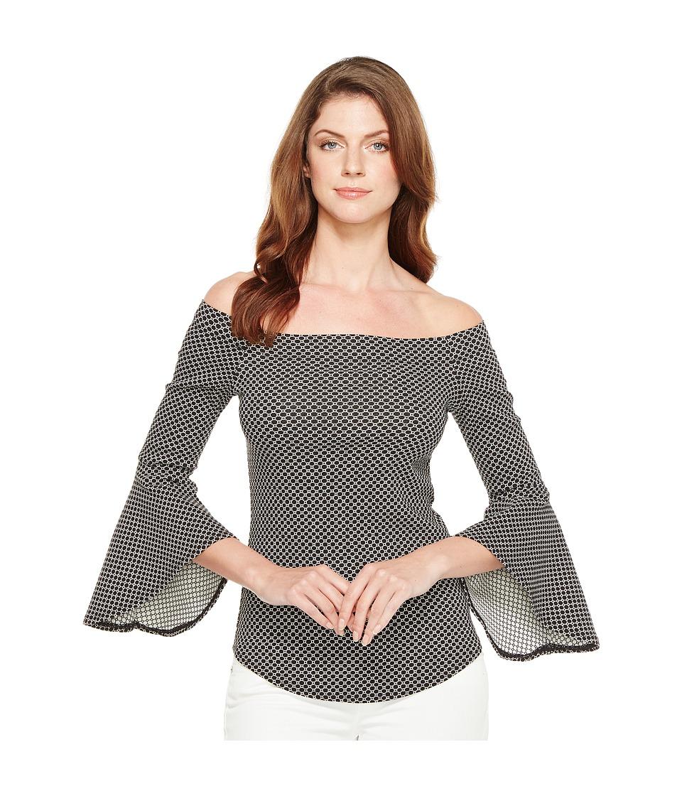 Karen Kane - Bell Sleeve Top (Print 2) Women's Blouse