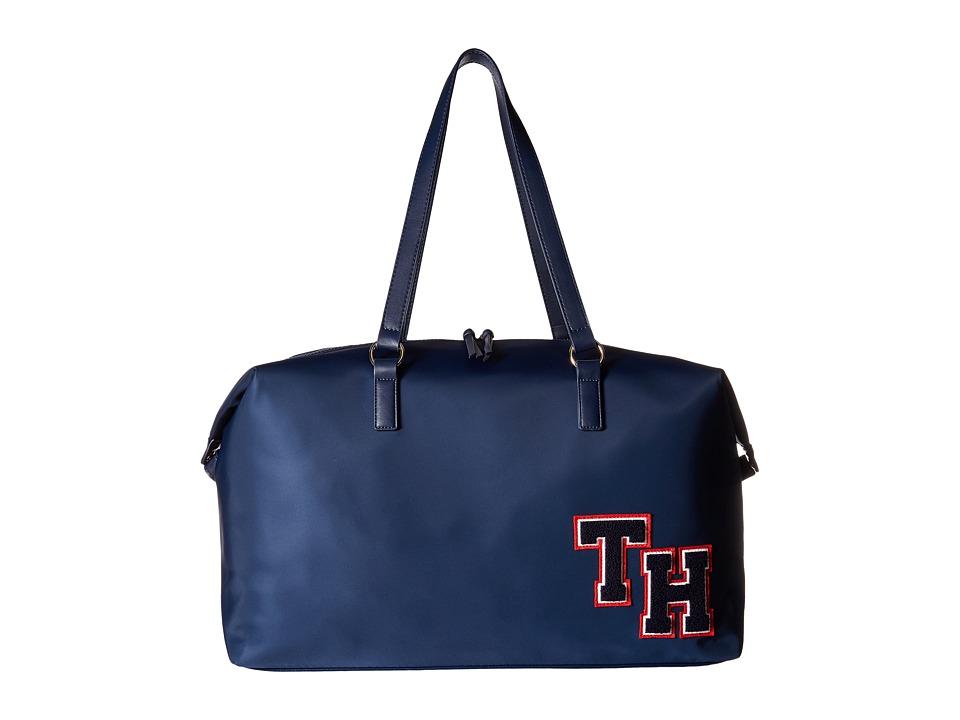 Tommy Hilfiger - Weekender Item Large Weekender Nylon (Tommy Navy) Handbags