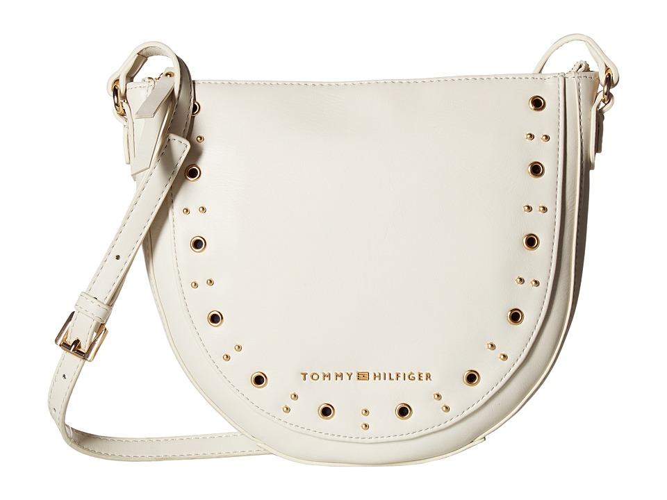 Tommy Hilfiger - Aileen Small Hobo (Dove) Hobo Handbags