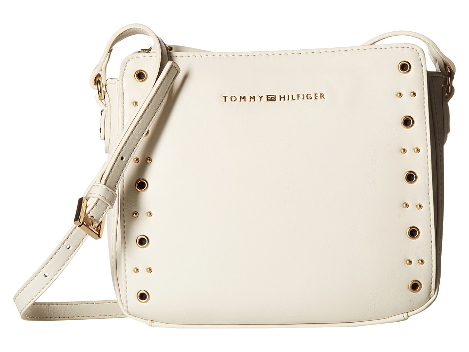 Tommy Hilfiger - Aileen East/West Crossbody (Dove) Cross Body Handbags