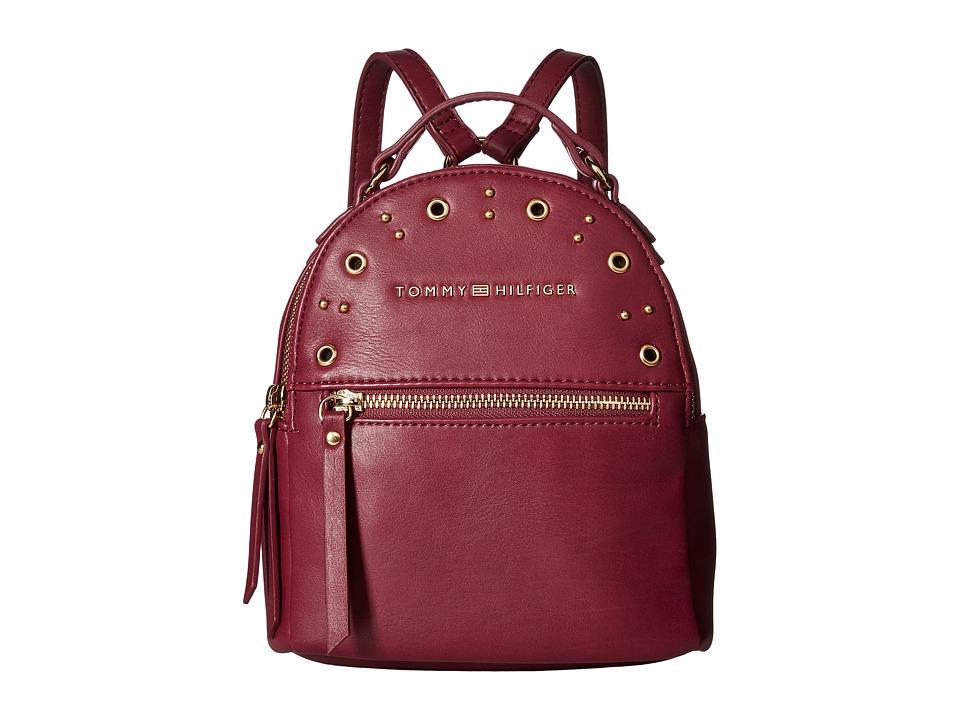 Tommy Hilfiger - Aileen Mini Backpack (Merlot) Backpack Bags