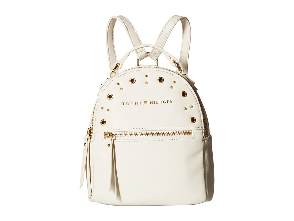 Tommy Hilfiger - Aileen Mini Backpack (Dove) Backpack Bags